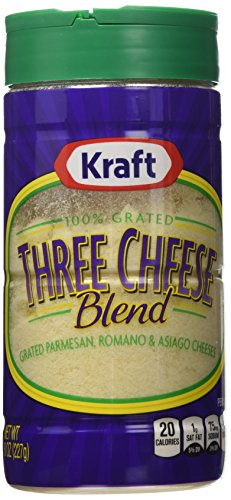 (Kraft Grated Parmesan, Romano & Asiago, 8 Ounce Cannister (Pack of 2) )