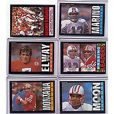 1985 Topps Football Near Mint to Mint 396 Card Hand Colla...