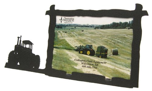 Frame Tractor - Four Wheel Drive 4WD Tractor 5X7 Horizontal Picture Frame