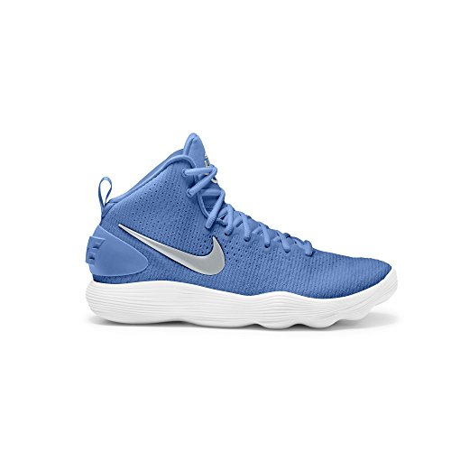 NIKE Women's Hyperdunk 2017 TB Basketball Shoe University Blue/Metallic Silver/White Size 9.5 M US by NIKE