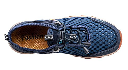 Hombre Mocasines 38 Tamaño Aire Eu38 Zapatos Ligero A eu42 Entrenadores Blue Azul Malla Nanxie Atlético Deporte Al De Libre 44 yqEOvq678T