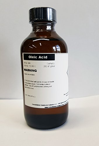 Cheap Oleic Acid 4oz(120ml) Packaged in Poly Bottle