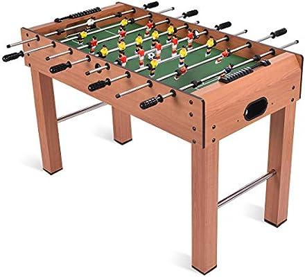 Giantex - Juego de Mesa de fútbol de 122 cm, tamaño de competición, Resistente Pub Arcade Sala