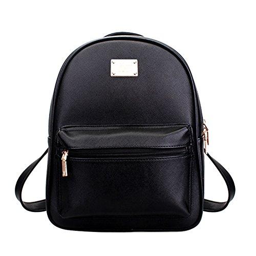 Tonlili Cool Leather Mini Womens Backpacks Purse Shoulder...