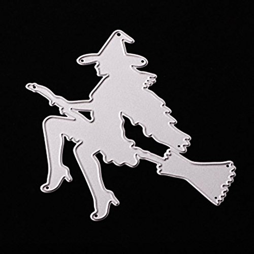 2018 Happy Halloween Die Cutting Dies Handmade Stencils Template Embossing for Card Scrapbooking Craft Paper Decor By E-SCENERY (H) for $<!--$1.99-->