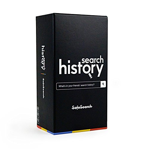 Search History Adult Card Game - The Adult Party Game of Surprising Searches [NSFW Edition - Safe Search Off] -