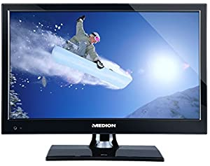Medion P12233 15.6 HD ready Schwarz - LED-Fernseher (HD, A, 16:9, 720p,...
