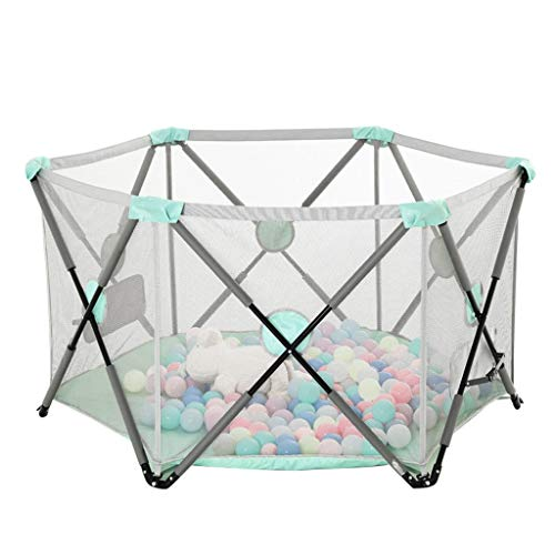 Playpen Tent Baby Safety Gate Portable & Travel Kids Ball Pit Playpen Ball Pool,Indoor and Outdoor Easy Folding Play House Play Space for Children Baby (Excluding The Ball) by CGF- Baby Playpen (Image #8)
