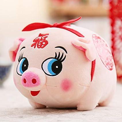 DONGER 2019 Año De La Mascota De La Mascota del Cerdo Compañía De Juguetes De Peluche