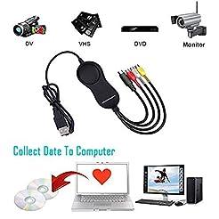 VHS to DVD Digital Video Converter USB 2...