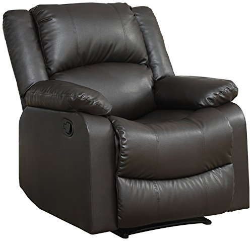- Relax A Lounger Warren Reclining Chair, Java