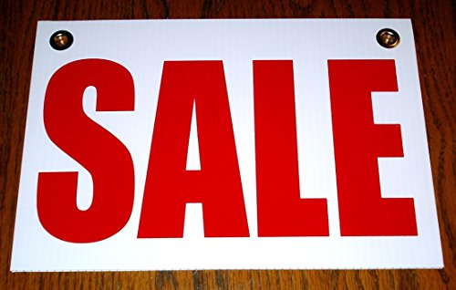 1Pc Cool Popular Sale Coroplast Sign Outdoor Board Message Declare 1-Side Printed Size 8