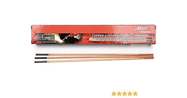 3//16 x 12-Inch Victor Arcair 22033003 Gouging Electrodes Pointed Copperclad DC