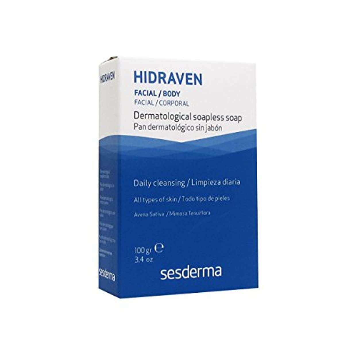標高ランク揺れるSesderma Hidraven Dermatological Soap 100gr [並行輸入品]