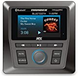 MTX AWMC3 All-Weather Head Unit for UTV and Marine: Bluetooth, AM/FM/WB. Satellite Ready
