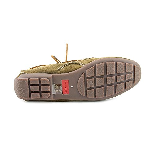 Leather In Olive NY Brazil Genuine Made Fashion Marc Joseph Driver Patent Suede Manhasset Shoes Women's CqERIwq