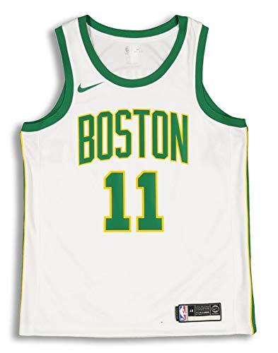 Outerstuff Kyrie Irving Boston Celtics #11 White Gold Youth Alternate Swingman Jersey (Medium 10/12) ()
