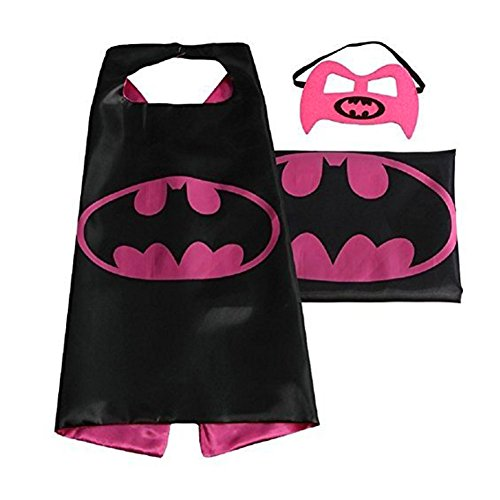 e07989fd959c Dress up Costume Cape and Mask Set with Matching Shaped Rubber ...