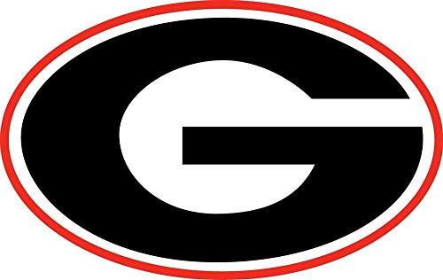 Georgia Bulldogs NCAA - Peel and Stick Sticker Graphic - Auto, Wall, Laptop, Cell, Truck Sticker for Windows, Cars, Trucks