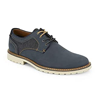 Lucky Brand Men's Monroe Oxford, Navy, 10.5 M US