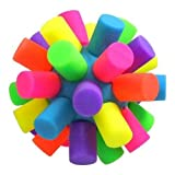 Squish and Squeeze Colorful Stress Ball sensory tactile fidget toy silent classroom tool autism adhd