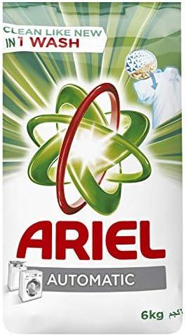 مسحوق تنظيف الغسيل من آريال للغسالات الأوتوماتيكية كغ 6 Amazon Ae