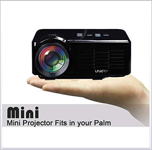 ZNHL Mini proyector casero, proyector de la película del LCD del ...