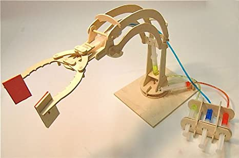 Hydraulic robotic arm science project