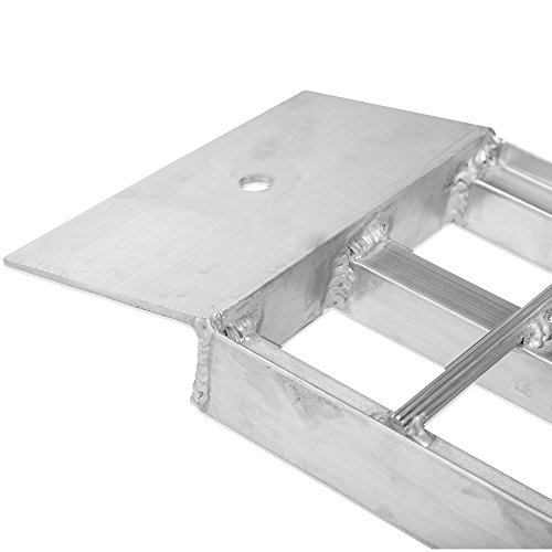 Apex Aluminum Dual Runner Shed Ramps – S-368-1500 - Lightweight & High-Strength Loading Ramps – 1,500 Pound Total Weight Capacity – Sold in Pairs – One-Year Warranty by Apex (Image #3)