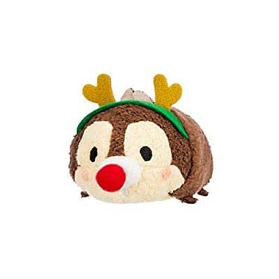 Disney Chip ''Tsum Tsum'' Plush - Holiday - Mini - 3 1/2'': Toys & Games