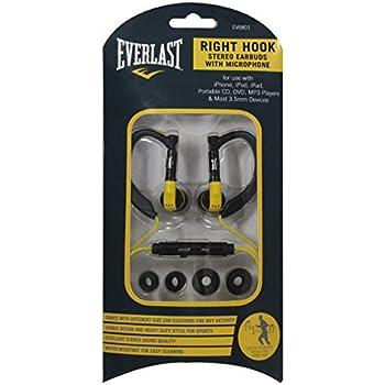 "Amazon.com: Everlast ""Right Hook"" Sports Earhook Style"