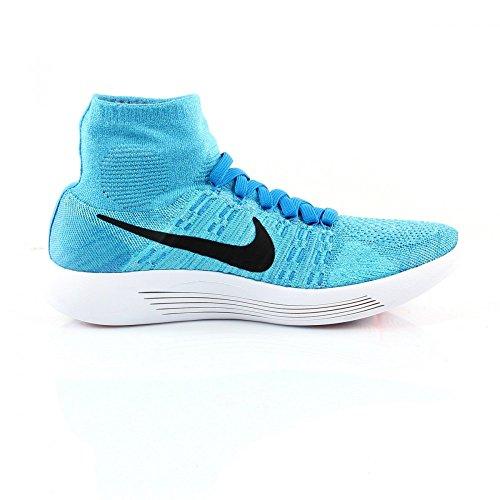 Nike Mens Lunarepic Flyknit Scarpe Da Corsa Gamma Blu / Blk-pht Bl-glcr Ic