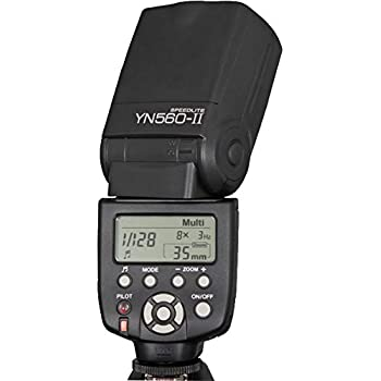 Yongnuo YN-560 II Speedlight Flash for Canon and Nikon. GN58.