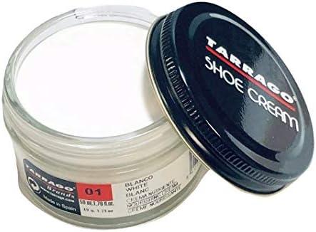 Tarrago Shoe Cream Jar 50ml. #1 White