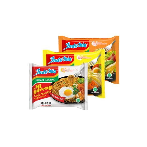 Indomie Combo of Mi Goreng (10 Packets) Special Chicken and Chicken Flavour, 5 Packets Each