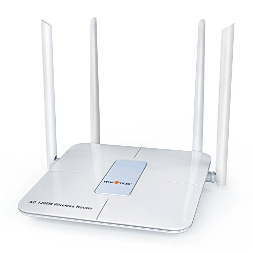 WISE TIGER WIFI DUAL BAND ROUTER AC 1200MBPS