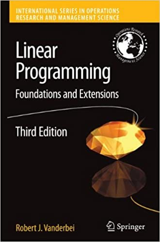 Linear programming foundations and extensions international linear programming foundations and extensions international series in operations research management science softcover reprint of hardcover 3rd ed fandeluxe Gallery