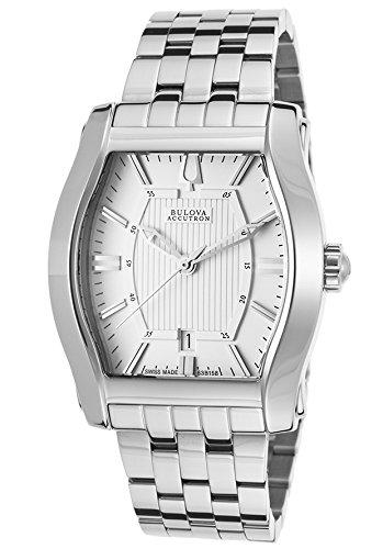 Bulova Accutron Stratford Men's Quartz Watch 63B158 Accutron White Wrist Watch