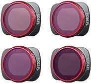 PGYTECH OSMO Conjunto de 2 filtros de bolso ND-PL (NDPL 8 16 32 64 (profissional)