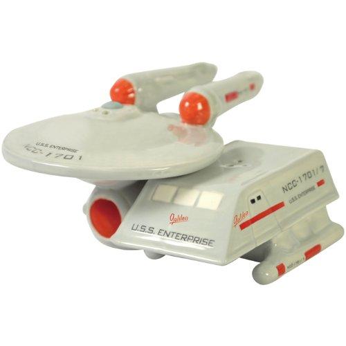 Star Trek Enterprise & Shuttle – Salt and Pepper Shakers