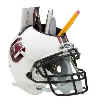 Gamecocks Ncaa Desk (South Carolina Gamecocks NCAA Football Schutt Mini Helmet Desk Caddy)