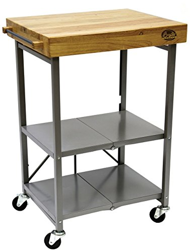 Bradley Smoker BTKITCART Foldable Kitchen Cart