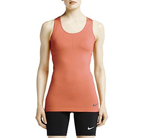 Nike Women's Dri-Fit Pro Hypercool Limitless Training Tank Top-Bright Mango-XS