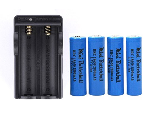 Rechargeable Mini Butterball Batteries Flashlight product image