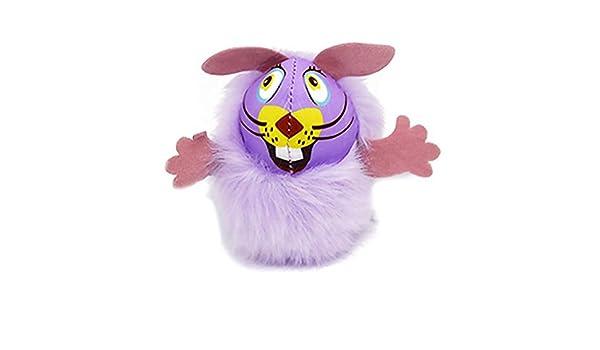 Ruiting Juego de Juguete Gato Hierba gatera Peludo ratón púrpura ...
