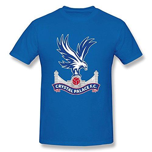 Price comparison product image Zelura Men's Premier League Crystal Palace T-shirts RoyalBlue XL