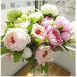 High-Quality-Peonybridal-Bouquetwedding-Party-Table-Centerpiecechristmas-Home-Decoration-Silk-Artificial-Flower-Arrangement-5-Pcsset