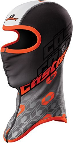 Castle X Team Sublimated Snowmobile Winter Balaclava (Black/Orange)