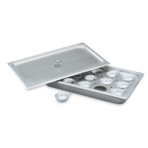 Vollrath 75070 Half Size S/S Egg Poacher