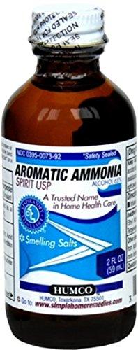 Humco Aromatic Ammonia Spirit USP 2 oz (Pack of 2) ()